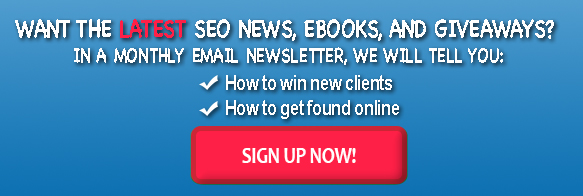 Sign Up for the Latest SEO News