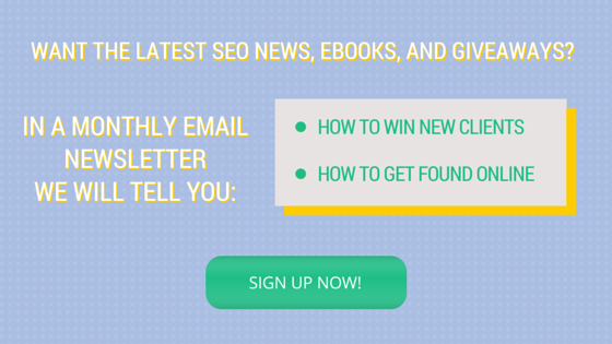 Sign Up for Our Newsletter.