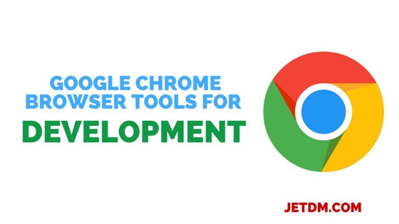 Google chrome browser tools for development
