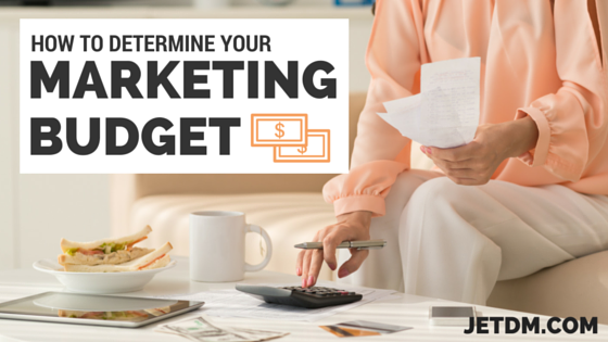 how to determine marketing budget